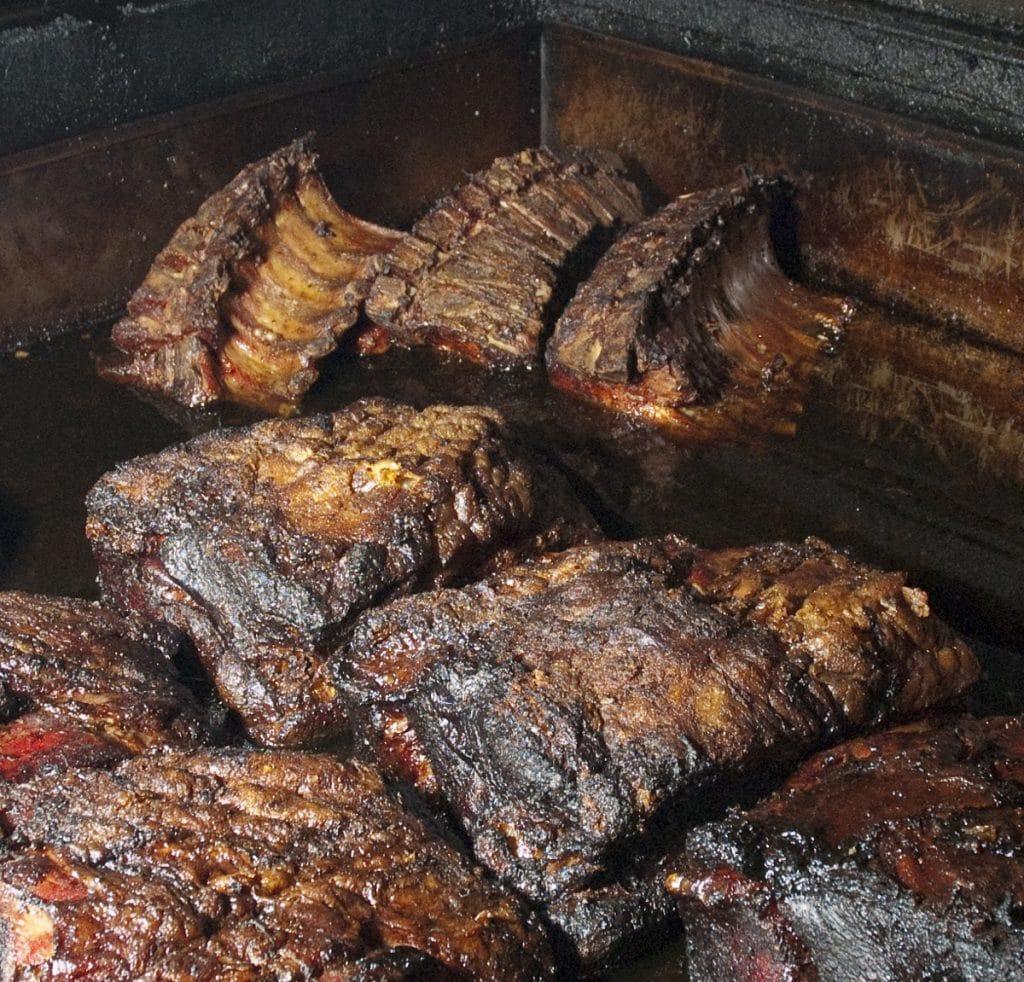 prime rib in texas smoker