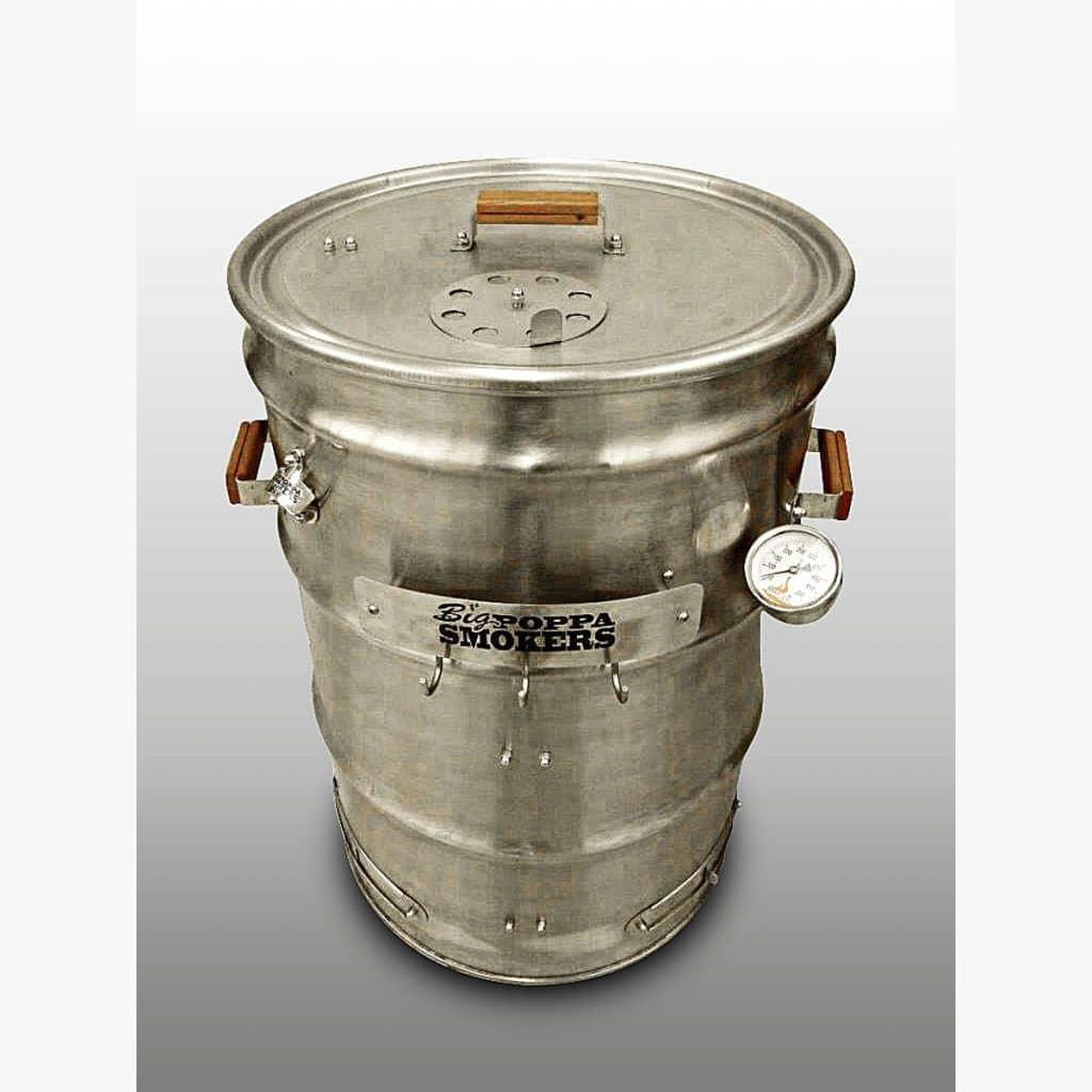 Big Poppas Stainless Drum Smoker Kit