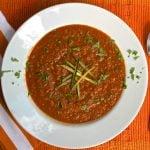 Modern Gazpacho Soup