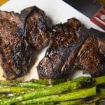lamb chops in kentucky black sauce