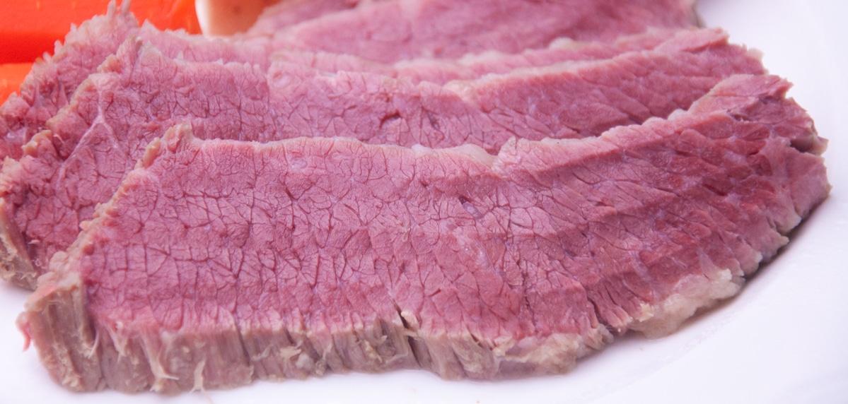 corned beef slices