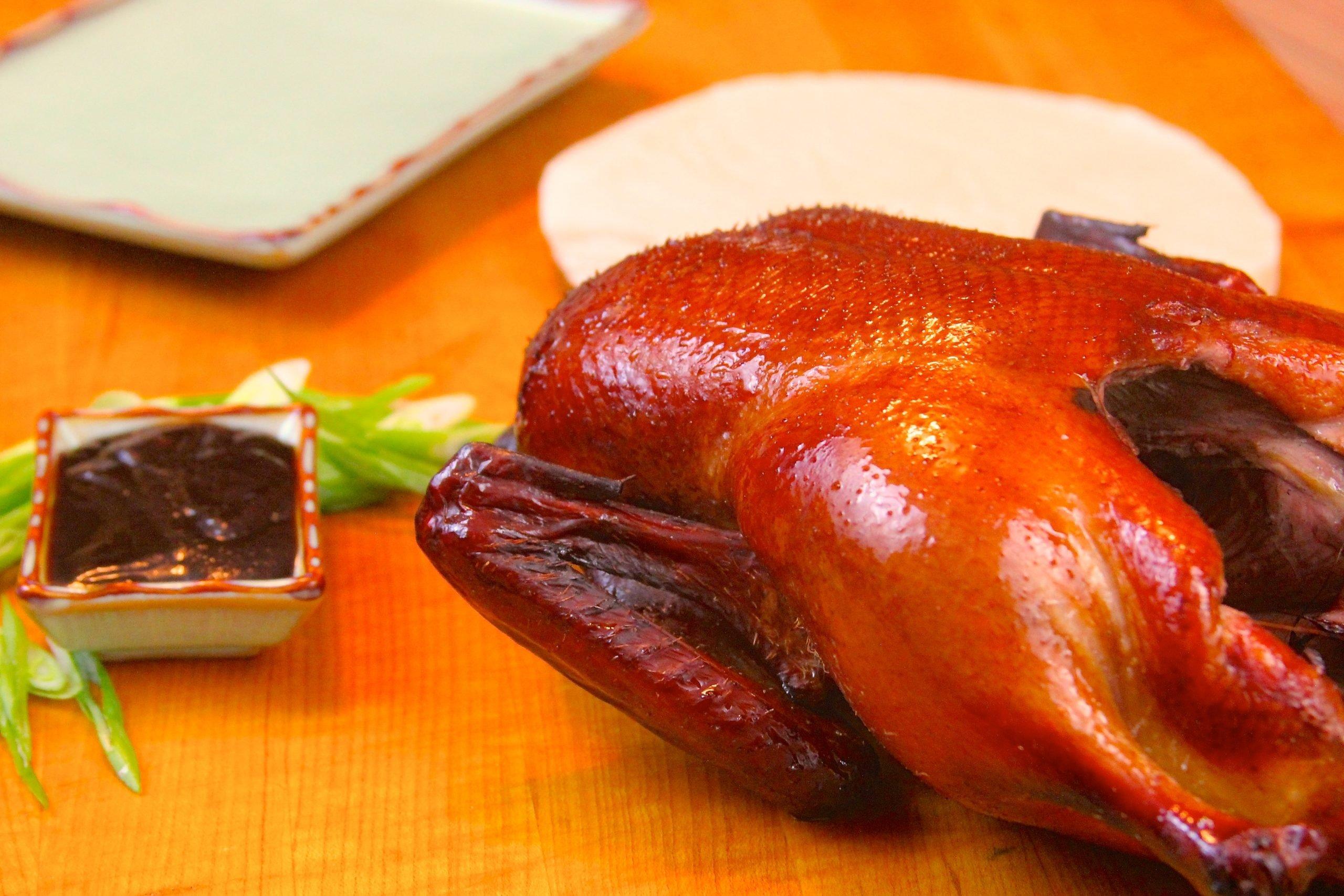 Smoked Peking duck