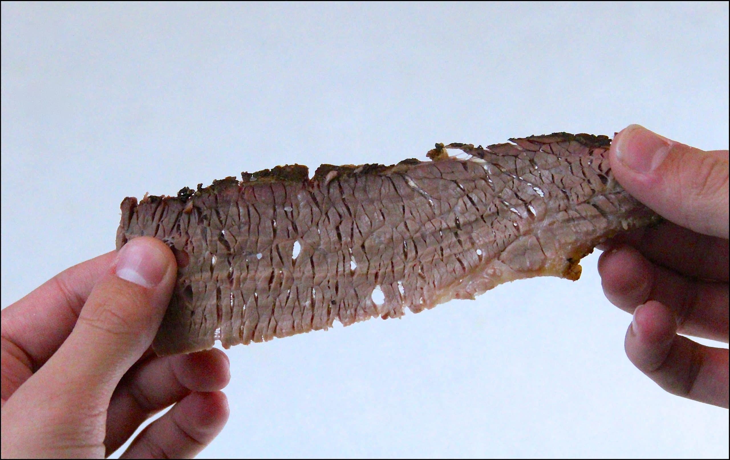 Brisket slice