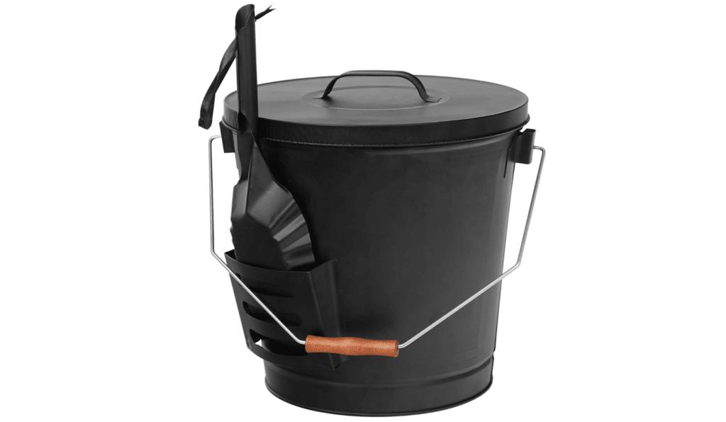 galvanized iron ash can