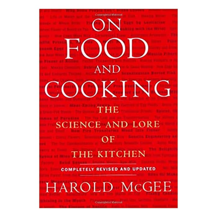 on food and cooking book cover