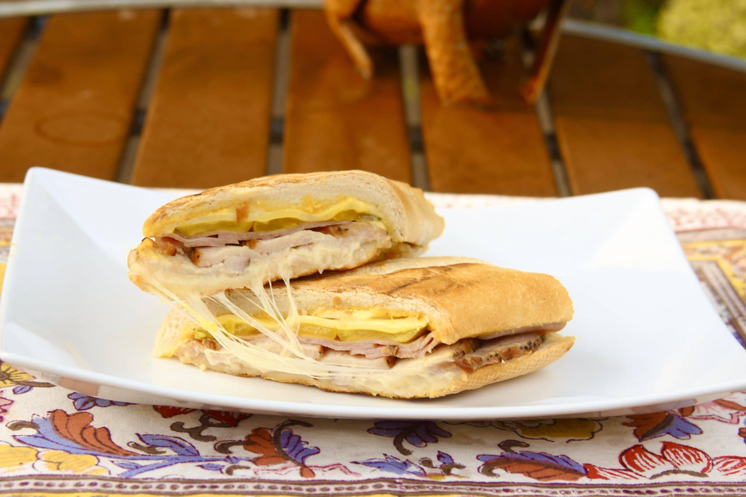 Pork loin Cuban sandwich