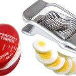 egg timer and egg slicer
