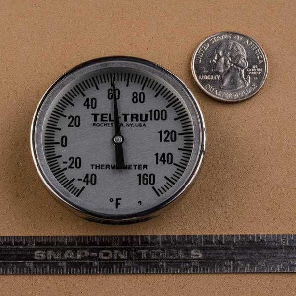 Tel-Tru BT275R Dial Thermometer Review