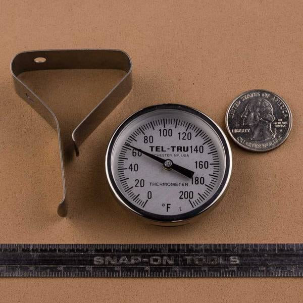Tel-Tru GT100R Dial Thermometer Review