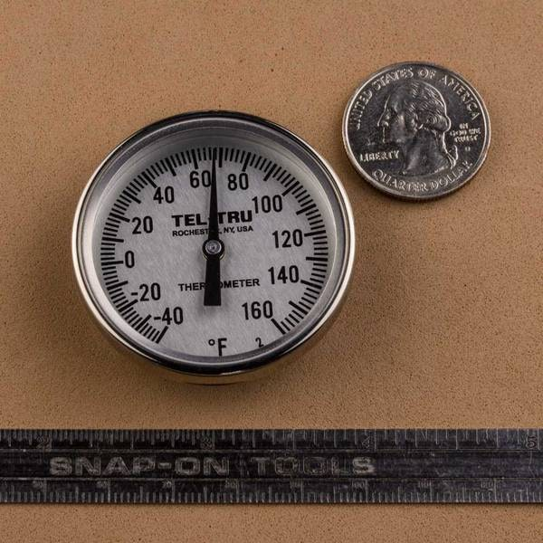 Tel-Tru MT39R Dial Thermometer Review