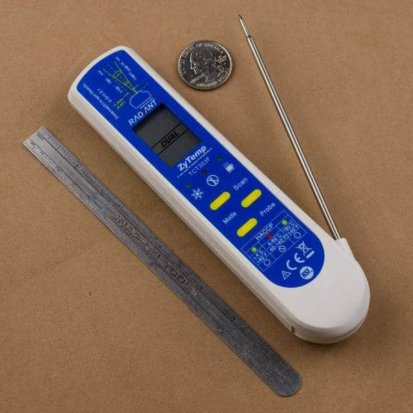 Tel-Tru QT303F Infrared and Probe Thermometer Review