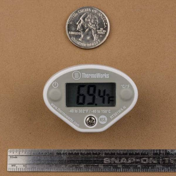 ThermoWorks RT301WA Super-Fast Pocket Thermometer Review