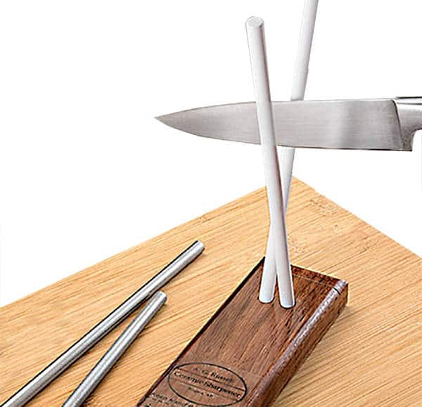 Ag Russell Ceramic Knife Sharpening Rods Can Be Used Frequently