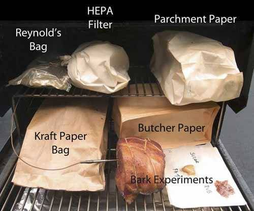 meat cooks and the difference between paper coverings for cooking
