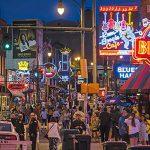 Beale Street in Memphis, TN
