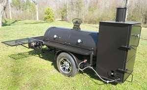 Bubba Grills 250 Reverse Flow Smoker