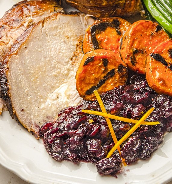 cranberry sauce with turkey