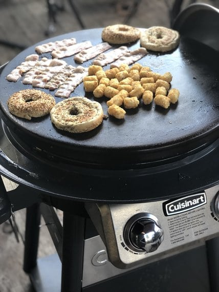 Cuisinart 360 Griddle Cooking Center Review, Cuisinart Round Flat Top Grill