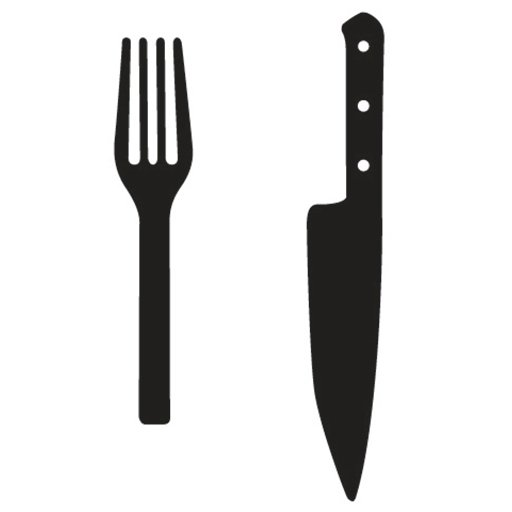 fork and knife logo