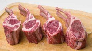 double wide lamb chops