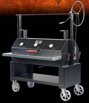 Engelbrecht 2000Series Stahlkammer Grill