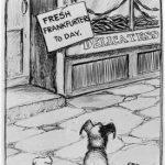 a hot dog cartoon