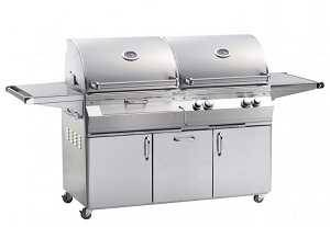Fire Magic Aurora A830 Combo Gas and Charcoal Grill