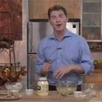 Bobby Flay with a jar of mayo