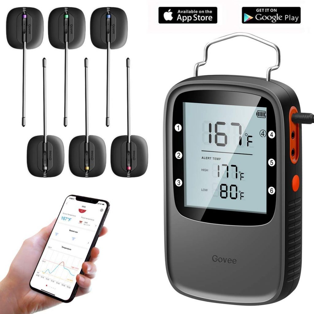 Govee H5055 Bluetooth Meat Thermometer Review