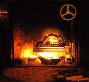 Fireplace insert from Grillworks