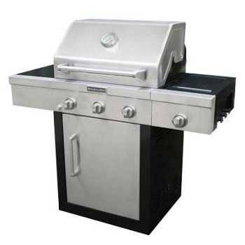 Kitchenaid 3-Burner Gas Grill