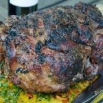 grilled leg of lamb
