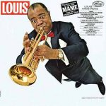 Magazine cover with Louis Armstrong