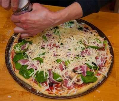 capicola pizza raw