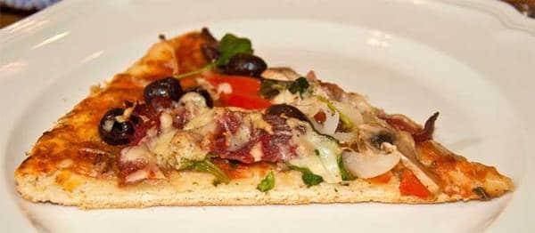 capicola pizza slice