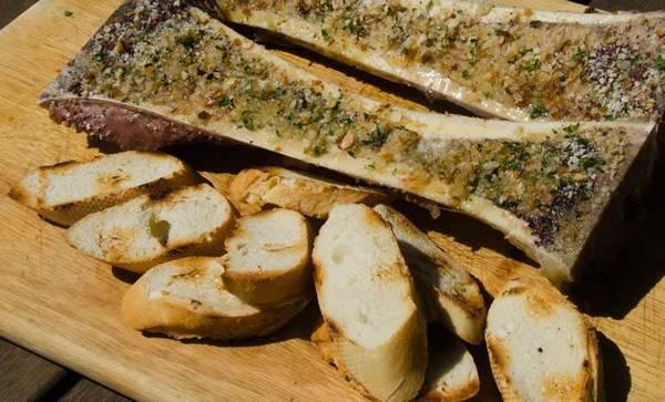 Roasted bone marrow