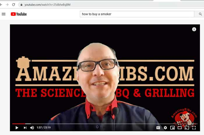 youtube screen with Max Good