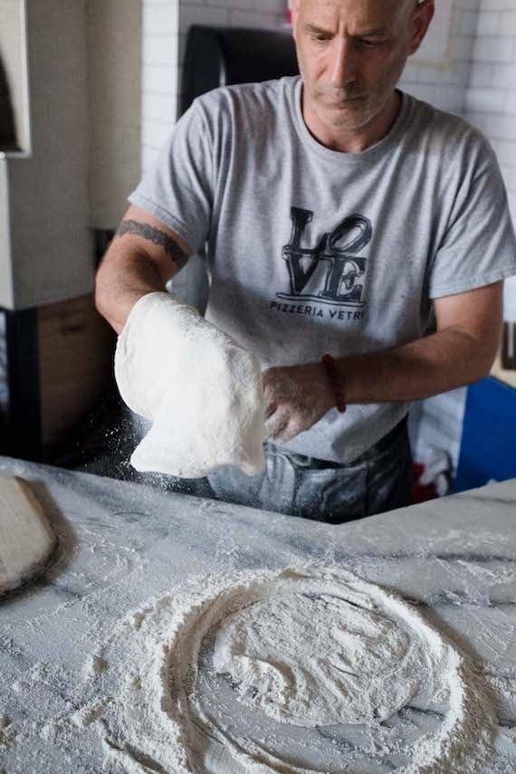 Marc Vetri making Naples style pizza dough