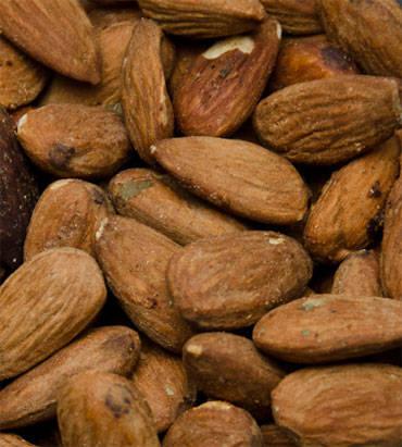 smoked almonds with simon and garfunkel rub