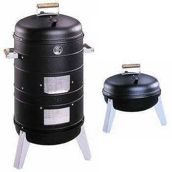 Southern Country 2 in 1 Water Smoker and Charcoal Grill