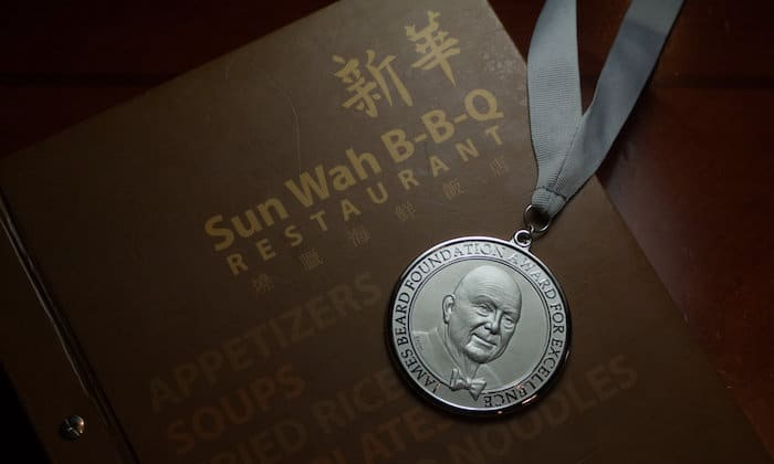 Sun Wah Chinese Barbecue Wins Beard Award