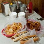 Detroit Coney dogs with sides