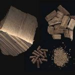 wood logs, chunks, chips, and pellets