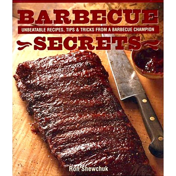BBQ Secrets Deluxe cookbook