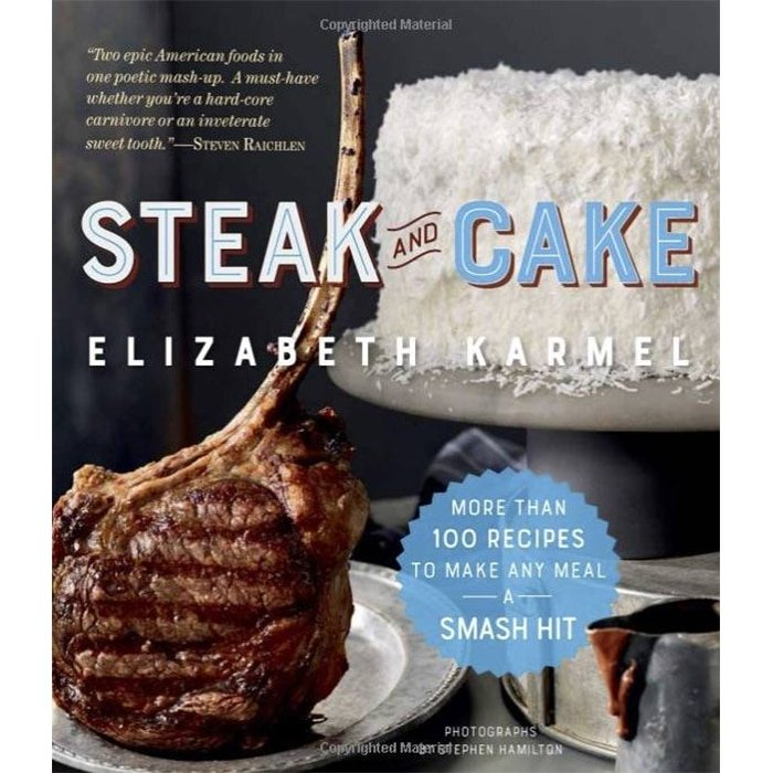 Steak and Cake cookbook