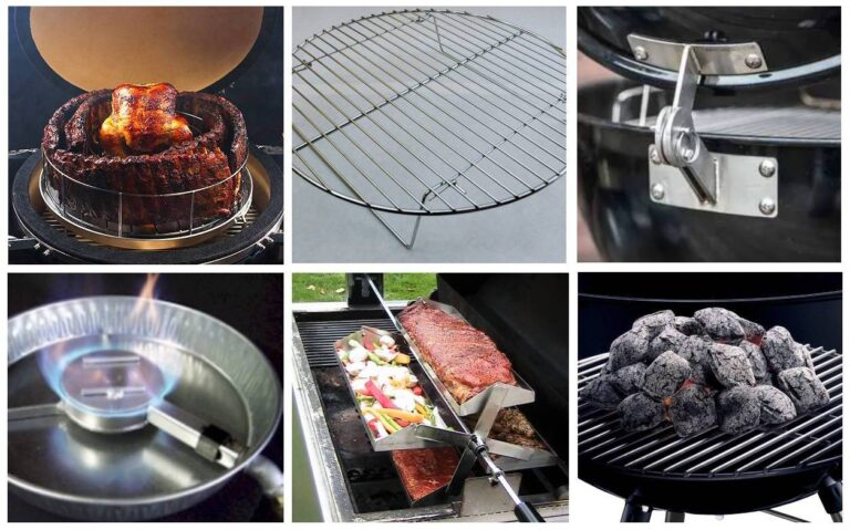 weber smokey mountain smoker accessories