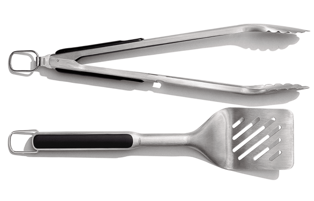 spatula and tongs